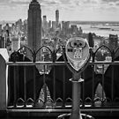 Empire State Building from Rockefeller Center by Randy  LeMoine