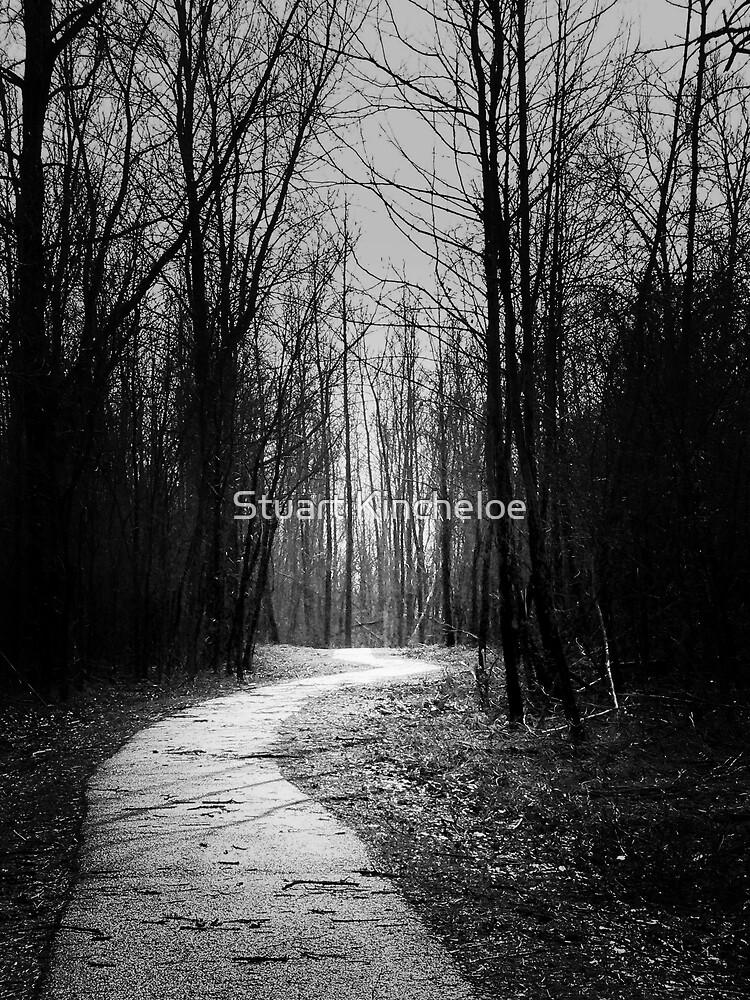 Wooded Trail by Stuart Kincheloe