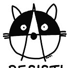 Join the raccoons of the resistance! Resist! by firstdog