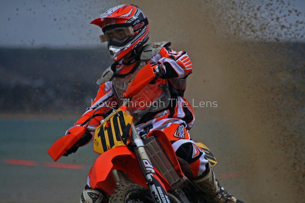 Weymouth Beach Race 2006  MotoX  5 by Love Through The Lens