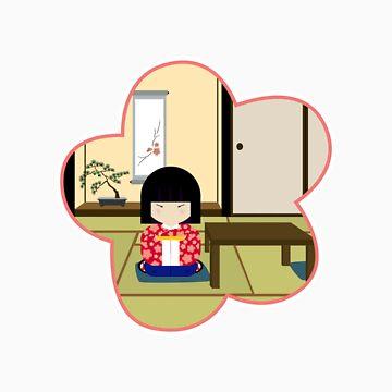 Japanese girl by babyshingo
