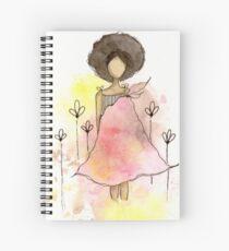 Splotch Girl - Freedom Spiral Notebook