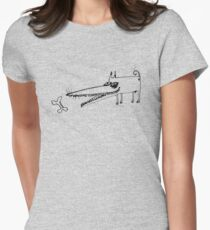 Doggy Bone Women's Fitted T-Shirt