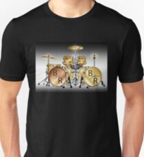 Golden Drums; Buddy Rich Style Unisex T-Shirt