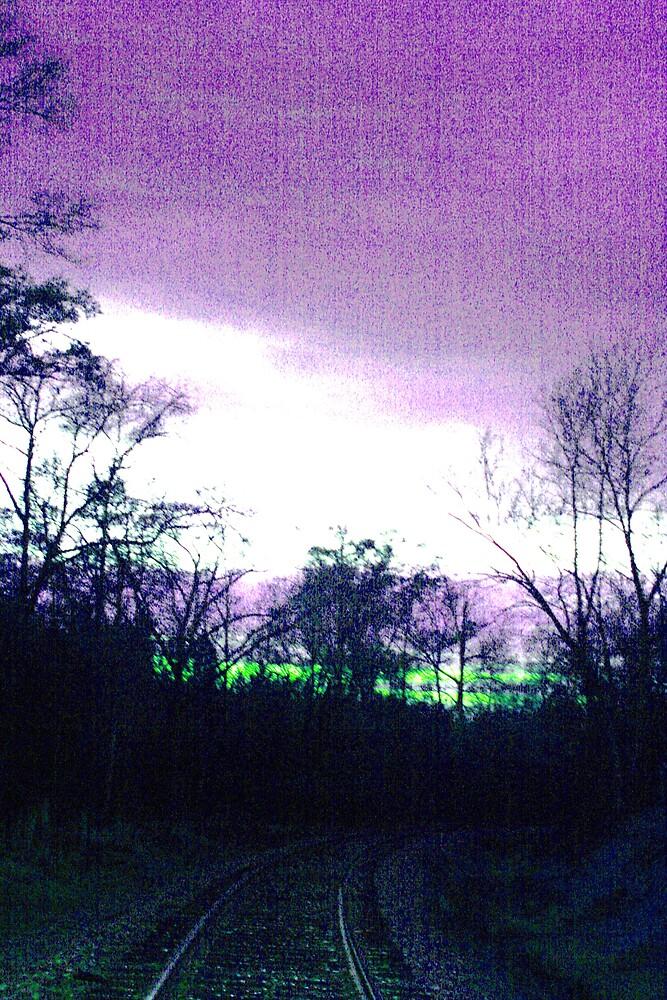 lighted sky by mel1forjon