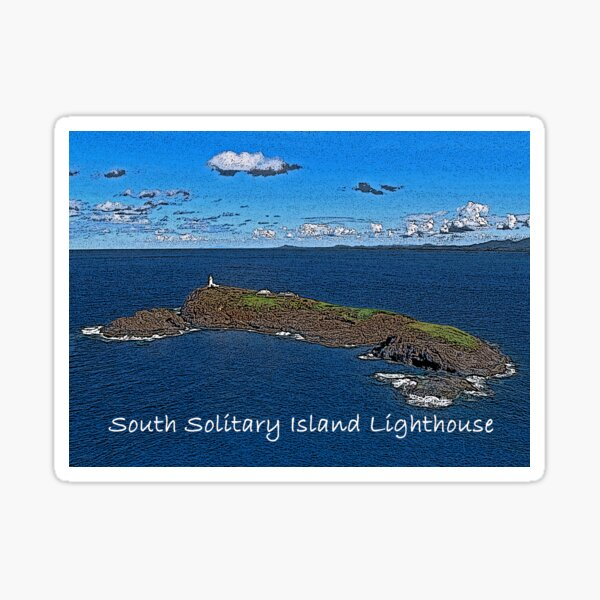 South Solitary Island Lighthouse 2 Sticker