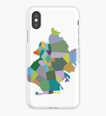 Brooklyn Neighborhood Map iPhone Case