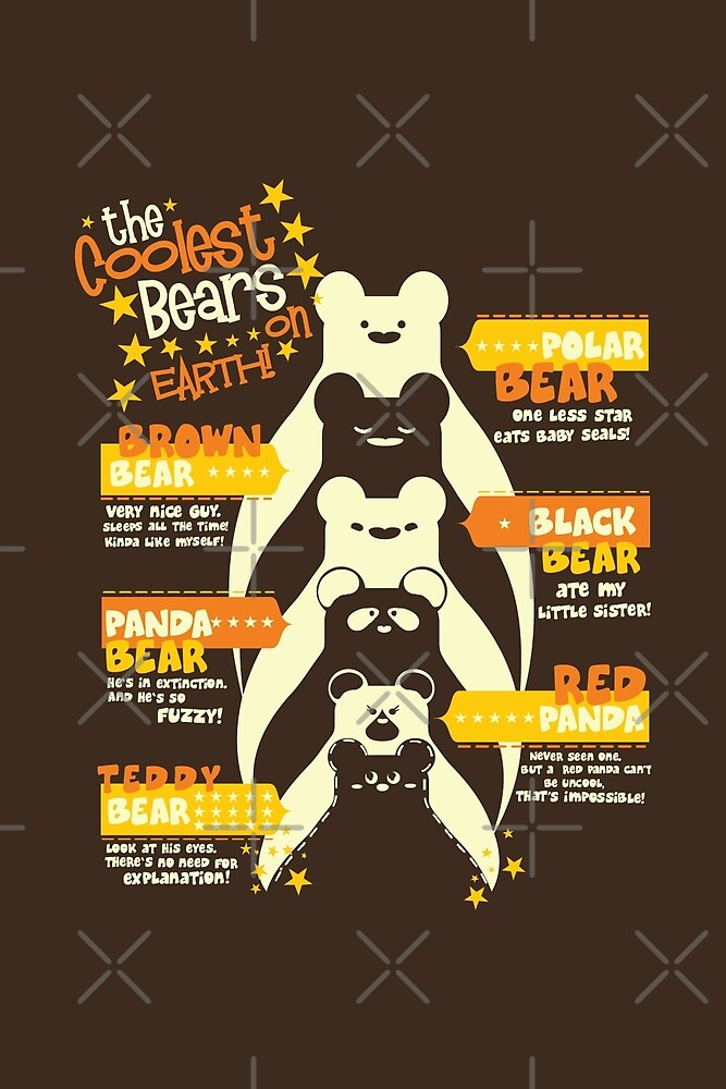 The Coolest Bears on Earth by tobiasfonseca
