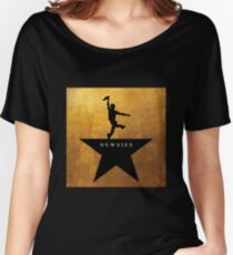 Newsies Hamilton Mashup Women's Relaxed Fit T-Shirt
