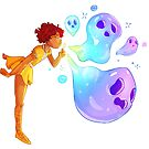 Bubble Ghosts by Noury Khamis