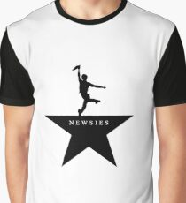 Neuigkeiten Hamilton Mashup Grafik T-Shirt