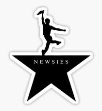 Newsies Hamilton Mashup Sticker