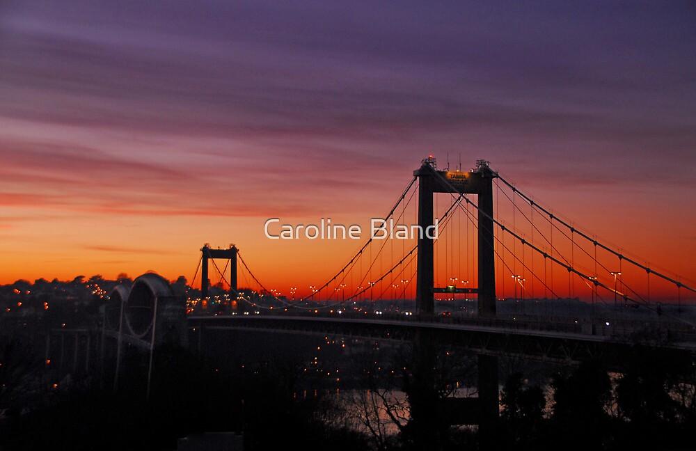 Tamar Bridges by Caroline Bland