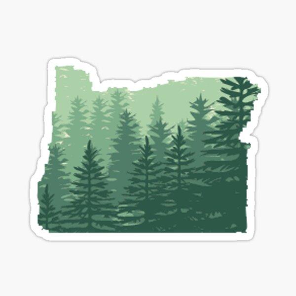 Oregon State Sticker