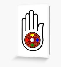 Universal Harmony Greeting Card