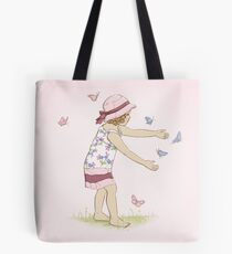 Butterfly Girl Two (Companion to Butterfly Girl) Tote Bag