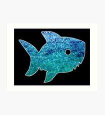 Big Little Shark Art Print