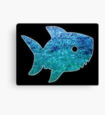Big Little Shark Canvas Print