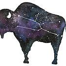 Bison Constellation by latheandquill
