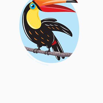 Toucan by Lyuda