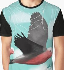 Pink Galahs  Graphic T-Shirt