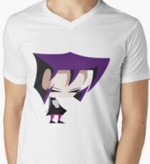 Invader Zim - Gaz V-Neck T-Shirt