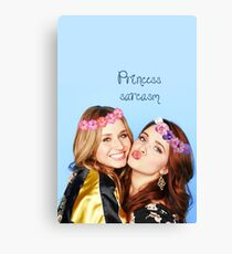 princess sarcasm Canvas Print