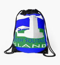 South Solitary Island Drawstring Bag