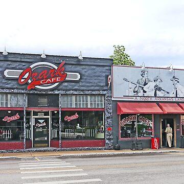 Ozark Cafe, Jasper, Arkansas by grmahyde