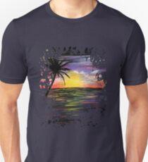 Sunset Sea Unisex T-Shirt
