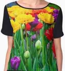 Tulip Kaleidoscope Chiffon Top