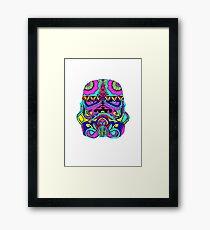 Blooper Trooper Framed Print