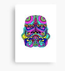 Blooper Trooper Canvas Print
