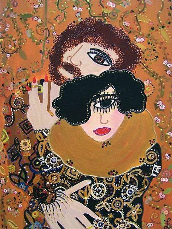 Klimt and Emilie by luciacullinane