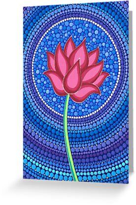 Splendid Lotus Flower by Elspeth McLean