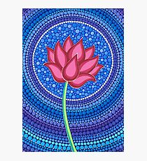 Splendid Lotus Flower Photographic Print