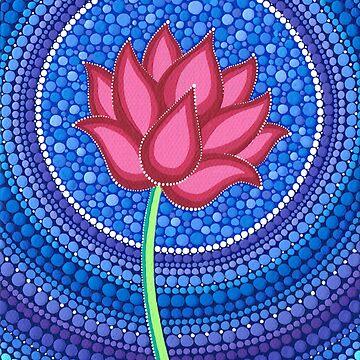 Splendid Lotus Flower by ElspethMcLean