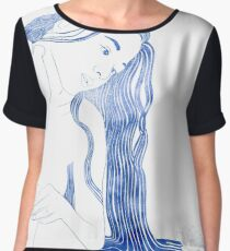 Nereid V Women's Chiffon Top