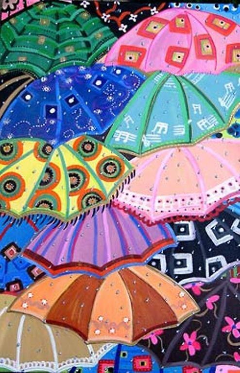 Umbrellas by luciacullinane