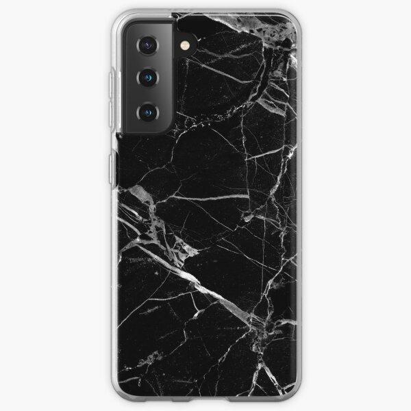 BLACK MARBLE Samsung Galaxy Soft Case