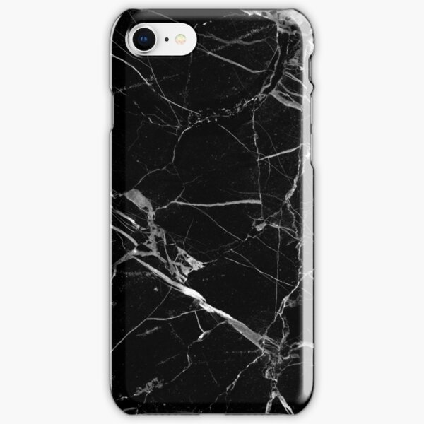 BLACK MARBLE iPhone Snap Case