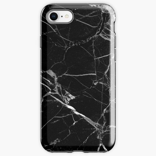 BLACK MARBLE iPhone Tough Case