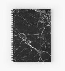 BLACK MARBLE Spiral Notebook