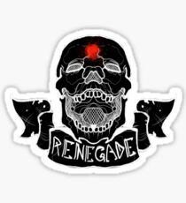 Renegade Skull Sticker