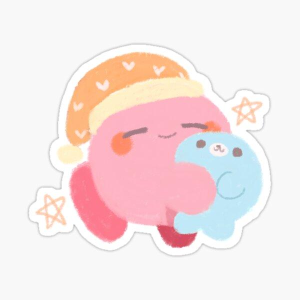 sleeping kirby Sticker