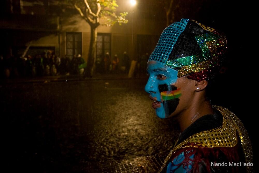 Carnival Dancer in Montevideo, Uruguay by Fernando Machado