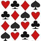 Hearts Clubs Diamond Spades by aldona