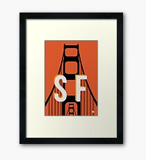 This is San Francisco Framed Print