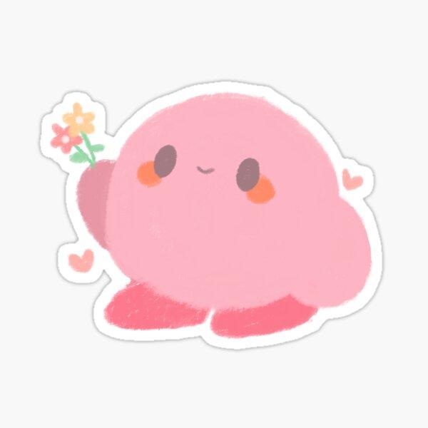 flower kirby Sticker