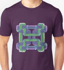 Weaving Pipes Unisex T-Shirt
